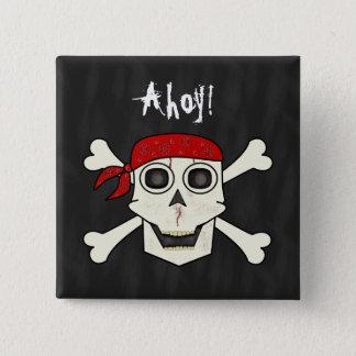 Skull Pirate Button