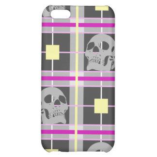 Skull Plaid iphone 4 Hard Case iPhone 5C Covers