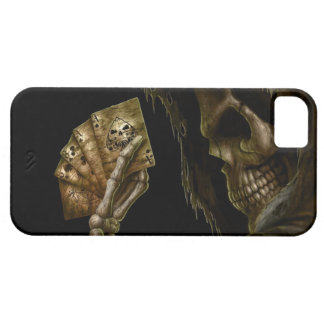 Skull Poker iPhone 5 Cases