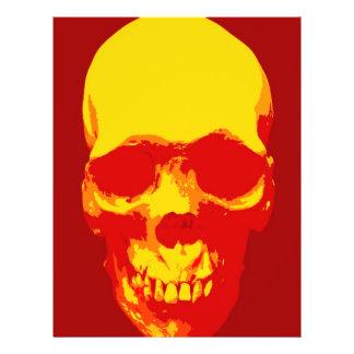 Skull Pop Art Flyer Design