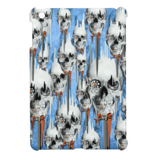 Skull popsicle pattern iPad mini cover