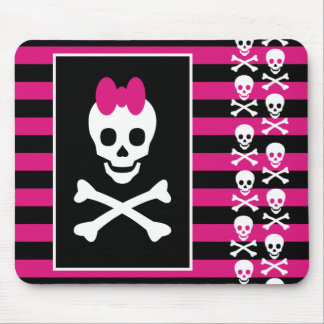 Skull Princess Mouse Pad