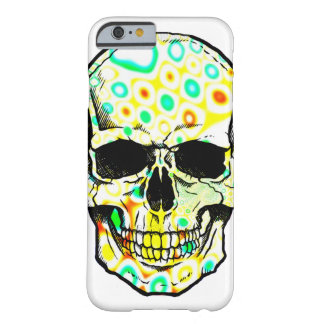 Skull/psicodélico Skull Barely There iPhone 6 Case