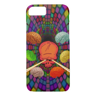 Skull Psychedelic Case-Mate iPhone Case