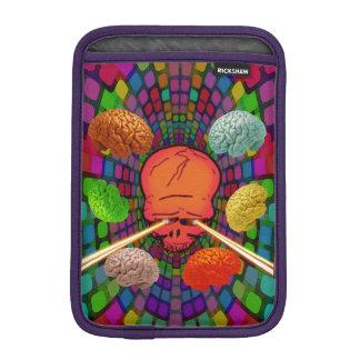 Skull Psychedelic iPad Mini Sleeve