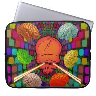 Skull Psychedelic Laptop Sleeve