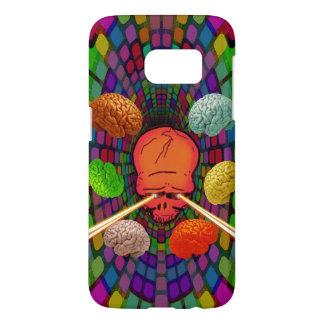Skull Psychedelic Samsung Galaxy S7 Case
