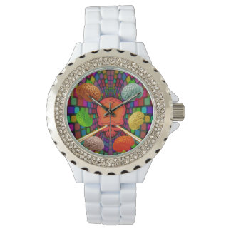 Skull Psychedelic Watch