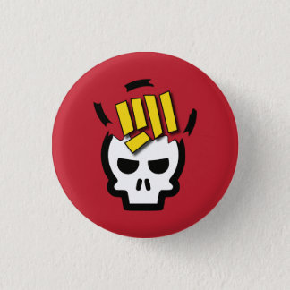 Skull Punch - Sigil of Thodon the Barbarian 1 Inch Round Button