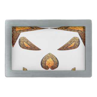 Skull Rectangular Belt Buckles