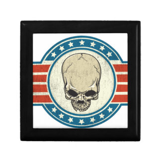 SKULL-RIBBON GIFT BOX