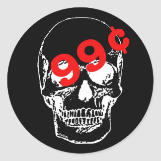 Skull Sale stickers