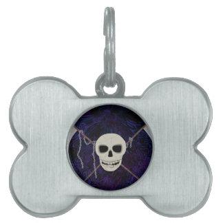 Skull & Scythes Pet ID Tags