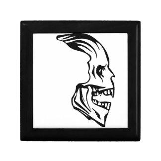 skull sideway gift box
