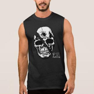 Skull Sleeveless Shirt
