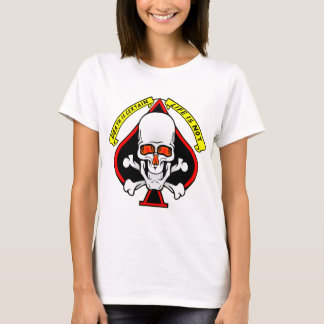 Skull Spade Death Is Certain Life Is Not T-Shirt