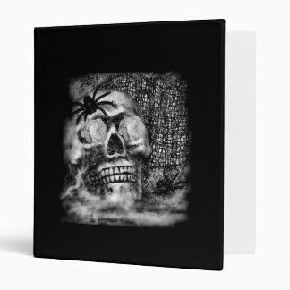 Skull-Spider and Rose Binder