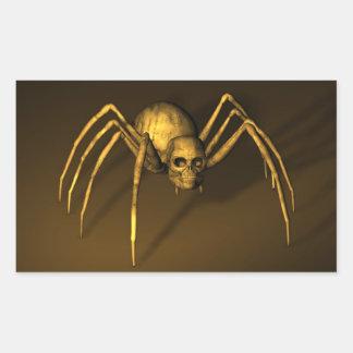 Skull Spider Sticker