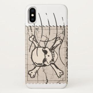Skull Stamp iPhone X Case
