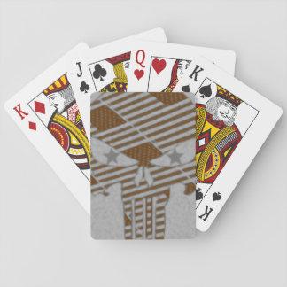 Skull stars poker deck