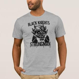 SKULL STRONGMAN Black Knights T-Shirt