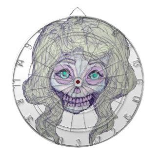 skull sugar pastel -her26- dartboard