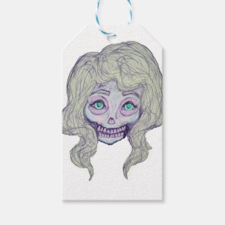 skull sugar pastel -her26- gift tags