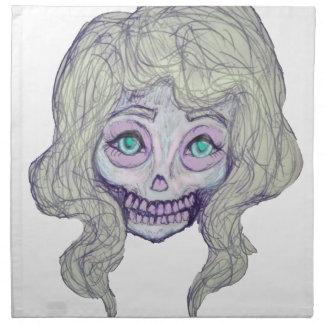 skull sugar pastel -her26- napkin