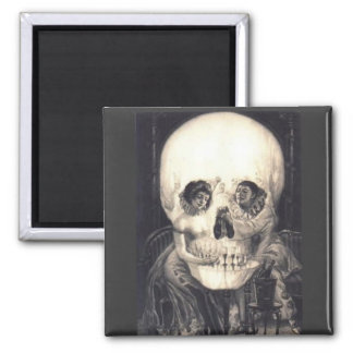 Skull Surprise 2: Halloween Magnet