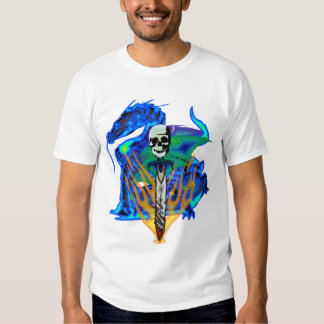 Skull Sword & Dragon Shirt