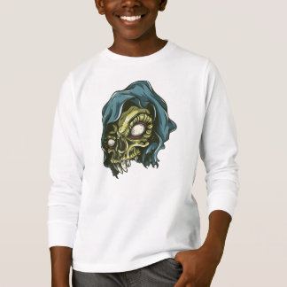 Skull Tagless ComfortSoft® Long Sleeve T-Shirt