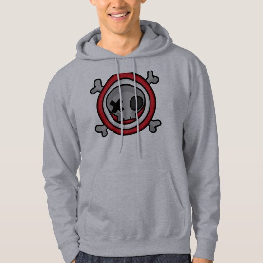 Skull Target Hoodie