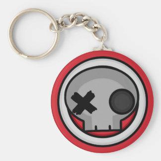 Skull Target Keychain