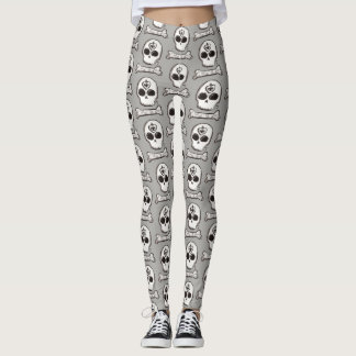 Skull Tattoo Leggings