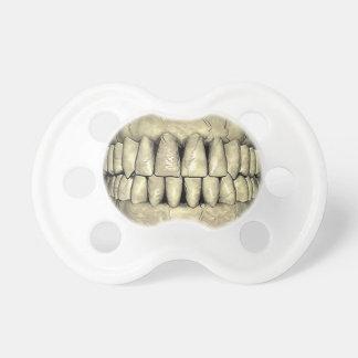 Skull Teeth Funny Pacifiers