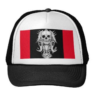 Skull trucker hat. trucker hat