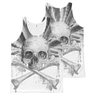 Skull Unisex Tank