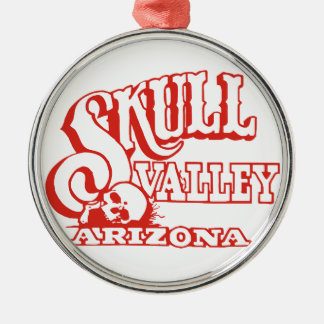 Skull Valley, Arizona Metal Ornament