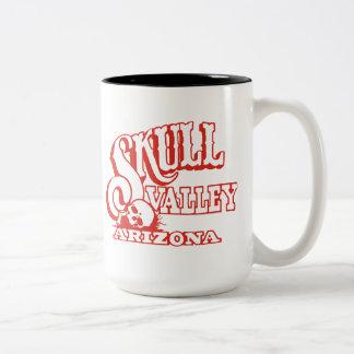 Skull Valley, Arizona Two-Tone Coffee Mug