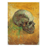 Skull, Vincent van Gogh, Vintage Impressionism Art