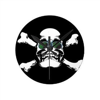 Skull Wallclock