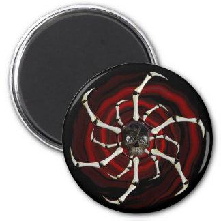 Skull Wheel magnet