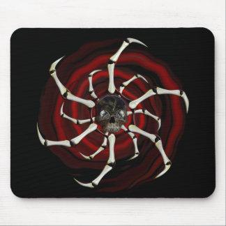 Skull Wheel mousepad