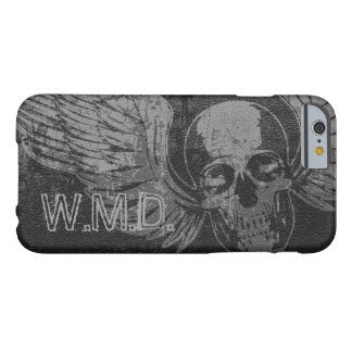 Skull Wing Distressed iPhone 6 Case Barely There iPhone 6 Case