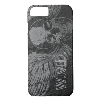 Skull Wing Distressed iPhone 7 Case