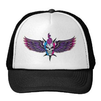 Skull Wings Trucker Hat