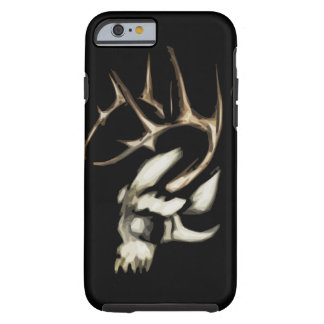 Skull with Antlers Iphone 6 tough case