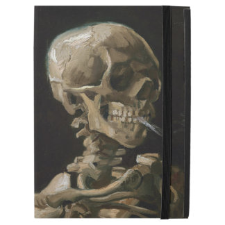 "Skull with Burning Cigarette Vincent van Gogh Art iPad Pro 12.9"" Case"