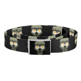 Skull with Fried Egg Eyes Belt