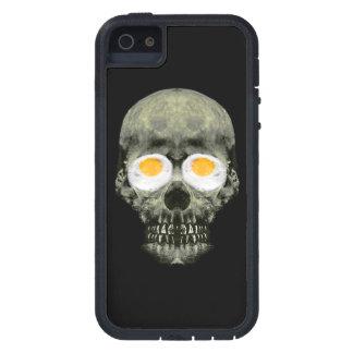 Skull with Fried Egg Eyes iPhone 5 Case